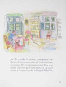 書斎の中の作家(ドルジュレス)