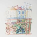 ヴァカンス・フォルセ アスペのデュフィの家の窓