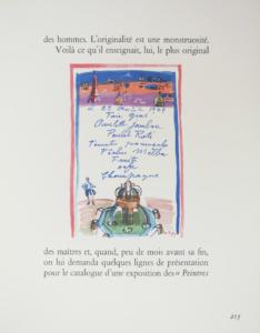 リベラシオン(パリ解放の日)のメニュー